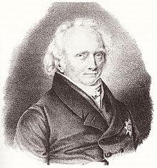 Hufeland im Alter (Quelle: Wikimedia)