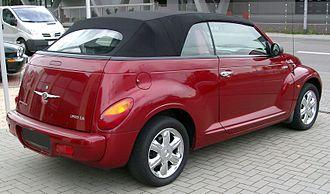 Chrysler PT Cruiser - Chrysler PT Cruiser convertible