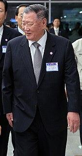 Chung Mong-koo South Korean business magnate