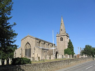 Witham on the Hill - Image: Church of St Andrew, Witham on the Hill geograph.org.uk 203015