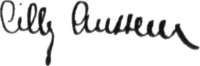 Cilly Aussem - Signature (1931).png