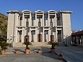 Cine-Teatro-Auditorium Parmenide, Paolo Portoghesi, Vittorio Gigliotti, porte di Angelo Casciello, Ascea Marina, Ascea.jpg