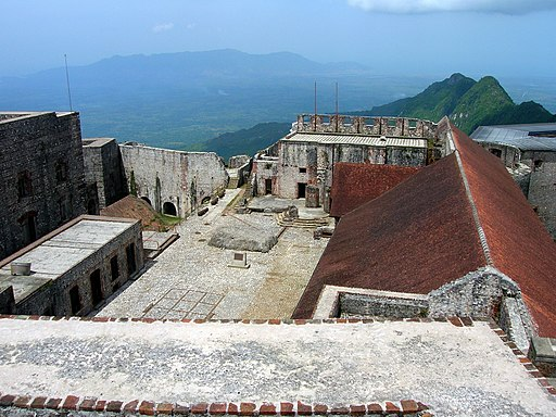Citadelle Laferrière from above