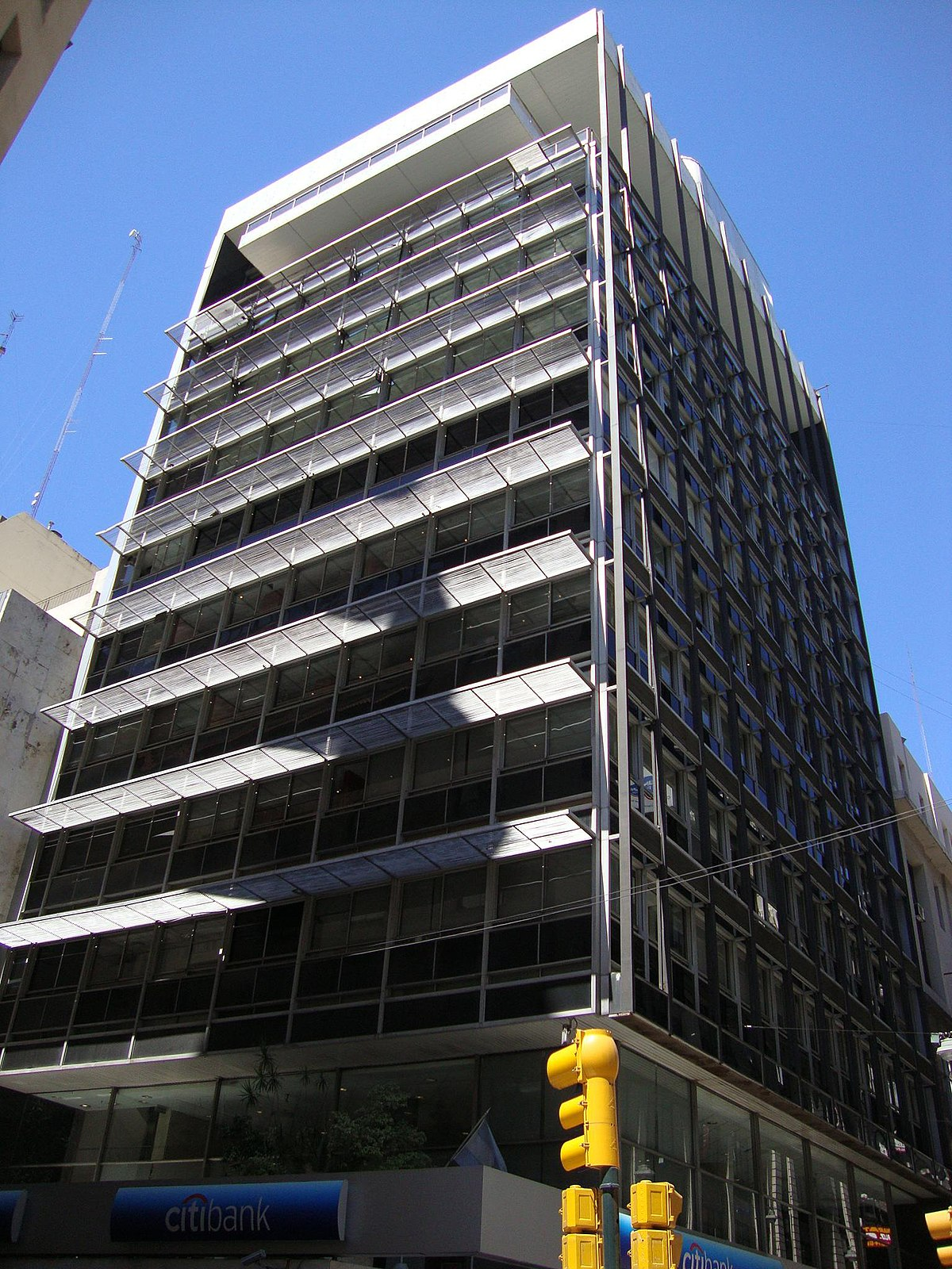 Banco popular argentino anexo casa central wikipedia for Oficinas banco popular cordoba