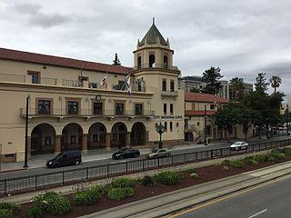 San Jose Civic Building in California, United States