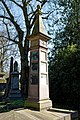 City of London Cemetery - four sided column monument.jpg