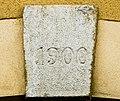 Clé de linteau datée de 1900 à Brebotte.jpg