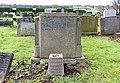 Clarke CWGC gravestone, Holy Trinity, Wavertree.jpg