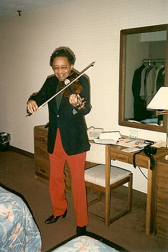 Claude Williams (musician) - Image: Claude Fiddler Williams
