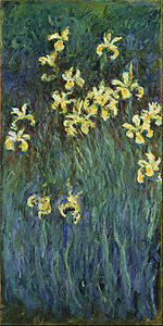 Claude Monet - Yellow Irises - Google Art Project.jpg