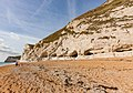 Cliff near Durdle Door in Dorset.jpg