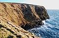 Cliffs at Gaitnip - geograph.org.uk - 1123688.jpg