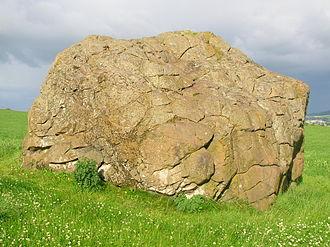 Rhydderch Hael - Image: Clochoderick Logan stone