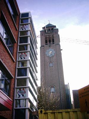 Alphen aan den Rijn - Monumental clocktower in Alphen aan den Rijn
