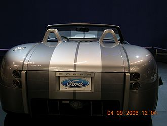 Ford Shelby Cobra Concept - The rear of the Shelby Cobra concept.