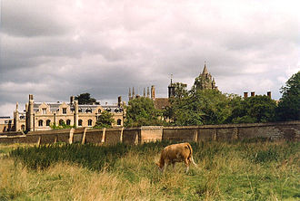 Peterhouse, Cambridge - Peterhouse, view from Coe Fen