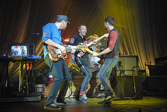 Coldplay - Coldplay performing in October 2008.