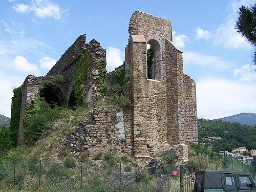 Photo - Eglise (ruines de l'ancienne)