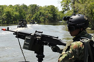 Colombian conflict - Image: Colombian marine