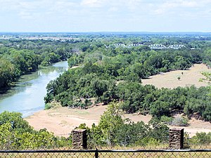 La Grange, Texas - Colorado River at La Grange