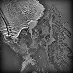 Columbia Glacier, Heather Island, Calving Terminus, August 25, 1969 (GLACIERS 1019).jpg
