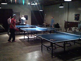 Comet Ping Pong - Ping Pong games are played inside of the restaurant.