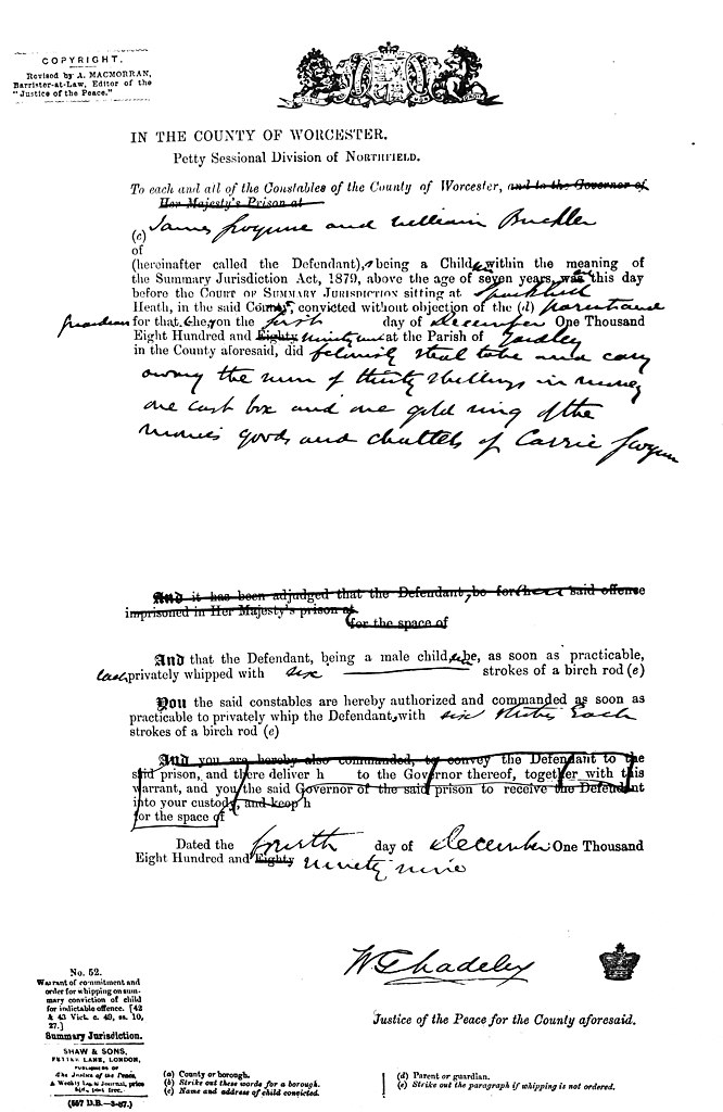 File:Committal for Birching-b&w jpg - Wikimedia Commons
