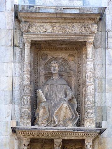 Памятник Плинию в Комо. XV век