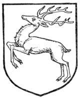 Fig. 382.—Stag springing.