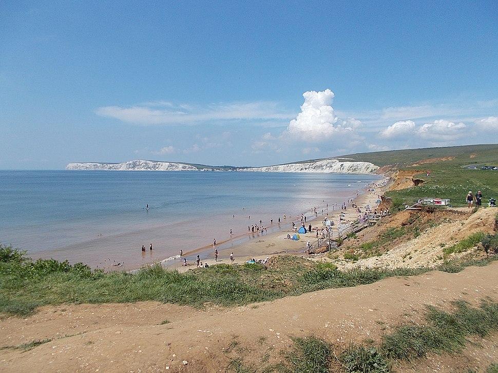 Compton Bay, Isle of Wight, UK
