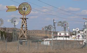 Comstock, Nebraska - Second Wind Ranch north of Comstock; site of the Comstock Music Festivals