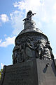 Confederate Monument - NW frieze and base up - Arlington National Cemetery - 2011.JPG