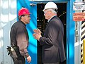 Congressman Miller visits USS-POSCO (6324006142).jpg