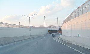 Atlantic City–Brigantine Connector - The Connector's tunnel was the subject of great controversy among residents during the planning stages.