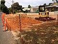 Construction of parking bays on Urana Street in Turvey Park (1).jpg