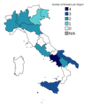 Conte II Cabinet regional composition map.png