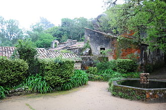Sintra - The Convent of the Capuchos, the monastic retreat established during the primordial history of the municipality