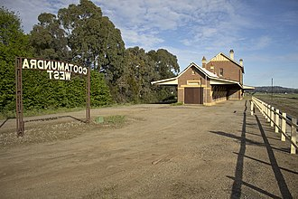 Cootamundra West railway station - Image: Cootamundra West Railway Station (02)