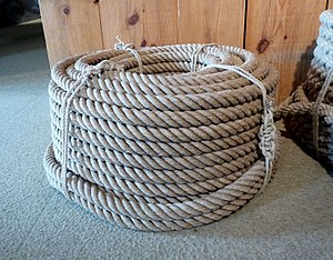Rope - A coil of rope