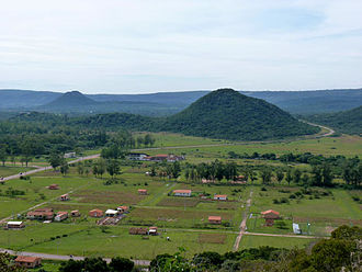 Geography of Paraguay - Hills around Paraguarí