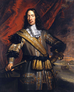 Cornelis de Witt - Cornelis de Witt as victor during the 2nd War with the English ca 1669 Jan de Baen