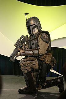 Mandalorians Fictional multi-species warrior people in the Star Wars universe.