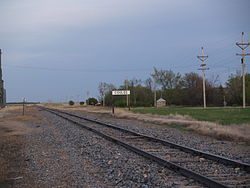 Railroad in Coulee