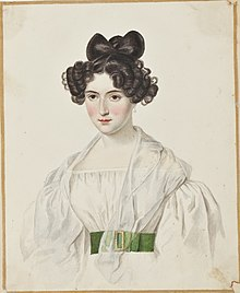 Description de l'image Countess Pauline de la Ferronnays by Brian Searby (Middleton Album).jpg.