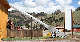 Creede, Colorado - Creede Fork, said to be the World's Largest