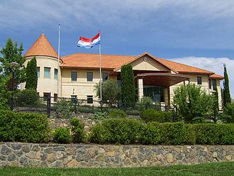 Croatian Australians - Croatian Embassy in Canberra