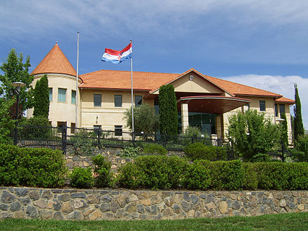 Croatian Embassy in Canberra, Australia Croatian Embassy in Canberra.JPG