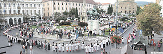 Croatian dances - Croatian folklore dance meeting in Pécs, Hungary