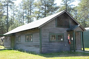 National Register of Historic Places listings in Ashley County, Arkansas - Image: Crossett Experimental Forest Building No. 6JPG