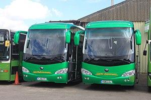 Crosville Motor Services (Weston-super-Mare) - Image: Crosville Motor Services YJ16UTC and YG16LGJ
